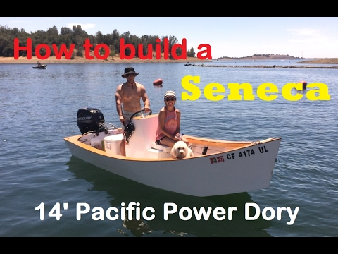 how to build a power boat