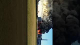 Brand in Waalwijk industrieterrein 2.0.