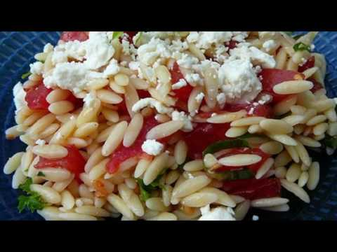 Recipe: Orzo And Tomato Salad With Feta Cheese