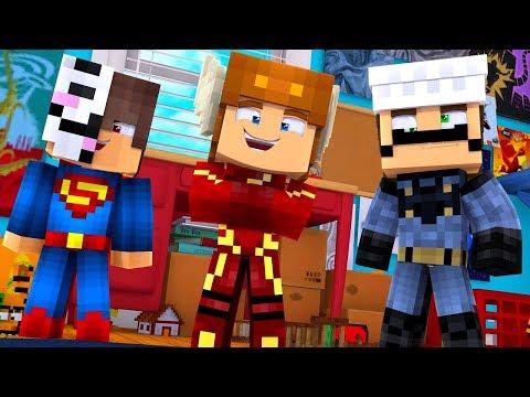 Minecraft Daycare - BABY SUPERHEROES! (Minecraft Kids Roleplay) (Episode 2)