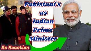 Pakistan React PAKISTANI's as INDIAN Prime Minister | AS Reactions