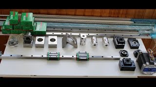 Cобираем станок с ЧПУ. Часть 1. Обзор механики/Assembling of machine CNC. Review of mechanics