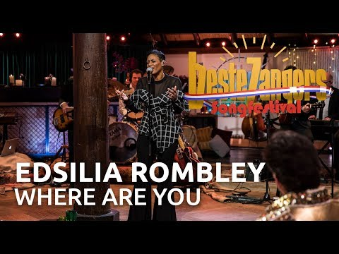Edsilia Rombley - Where are you | Beste Zangers Songfestival