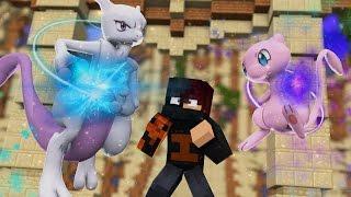 Minecraft: MEWTWO VS MEW - VS POKEMON ⚔ ‹ Ine ›