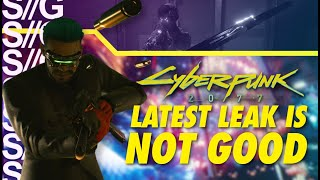 Cyberpunk 2077 News! Disappointing Leaks! 175 Hours of Content and More!