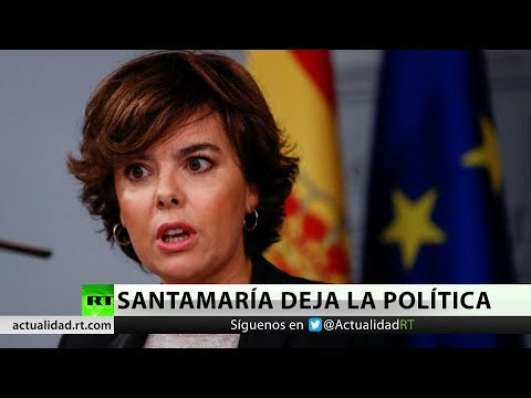 España: Soraya Sáenz de Santamaría anuncia que abandona la política