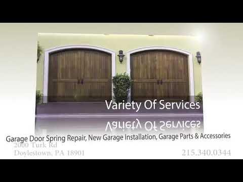 Garage Doors in Bucks County, PA - Des Carr Doors Inc. - YouTube