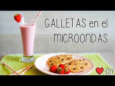 Galletas para microondas- DIY