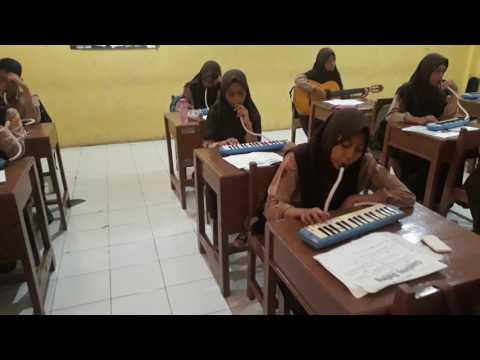 Gambang Suling Dengan Alat Musik Gitar Dan Pianika