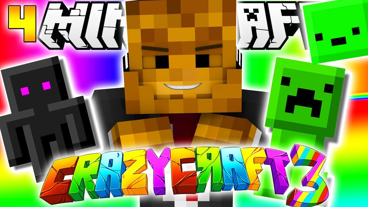 Minecraft crazy craft 3 0 pet creeper enderman and for Watch create and craft tv online