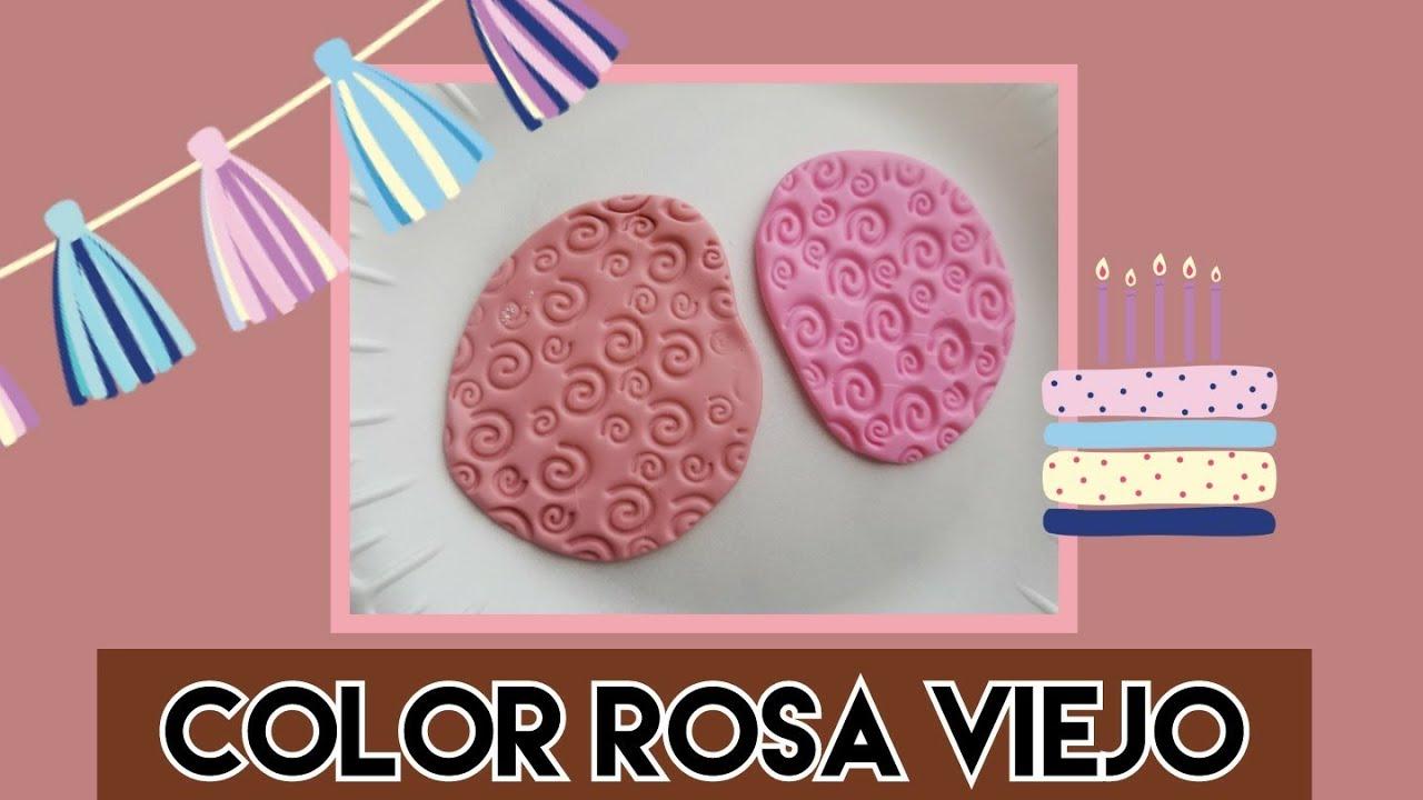 Como Pintar Color Rosa Viejo En Fondat