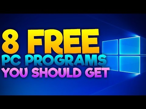 8 Great FREE Computer Programs For PC Gamers and YouTubers