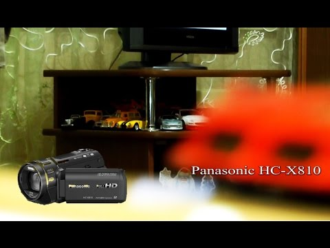 Обзор камеры Panasonic HC-X810 как работать ручным фокусом