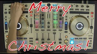 dj ravines christmas mix 2013 on pioneer ddj sx 4 decks electro hardstyle hardcore