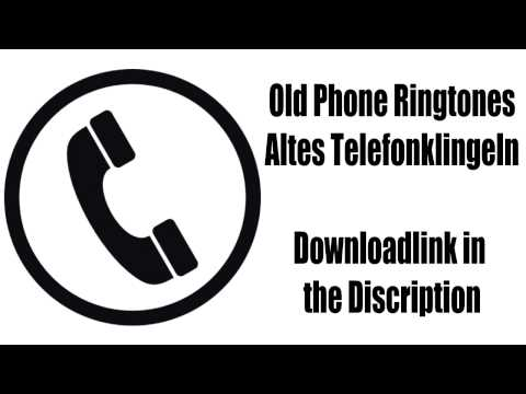Old Ringtones Alte Klingeltöne Retro Mobile + Downloadlink