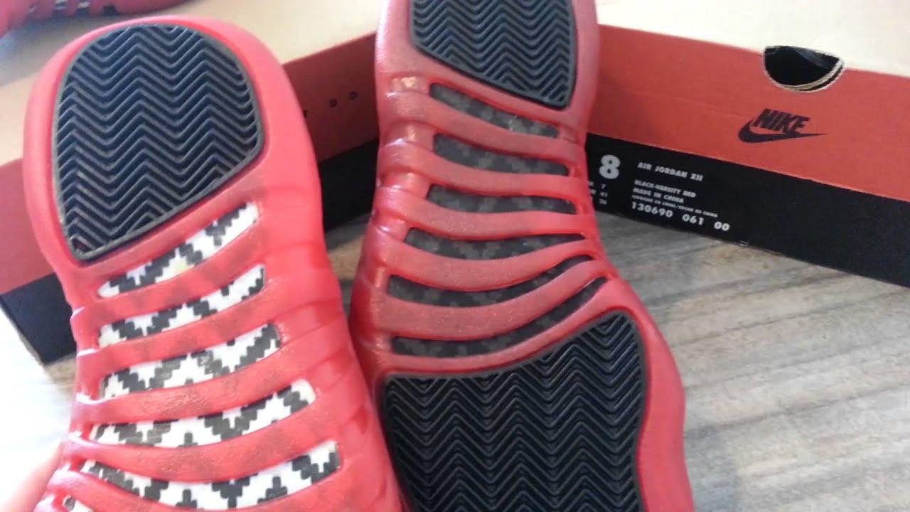 buy popular 17370 056cc Original 97 Jordan 12 Real or Fake