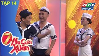 HTV 7 NỤ CƯỜI XUÂN   Hari Won và Trường Giang quảng cáo mắm tôm   7NCX #14 FULL   11/3/2018