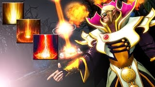 9k Miracle- vs. 8k Dendi SUNSTRIKE INFERNO Dota 2