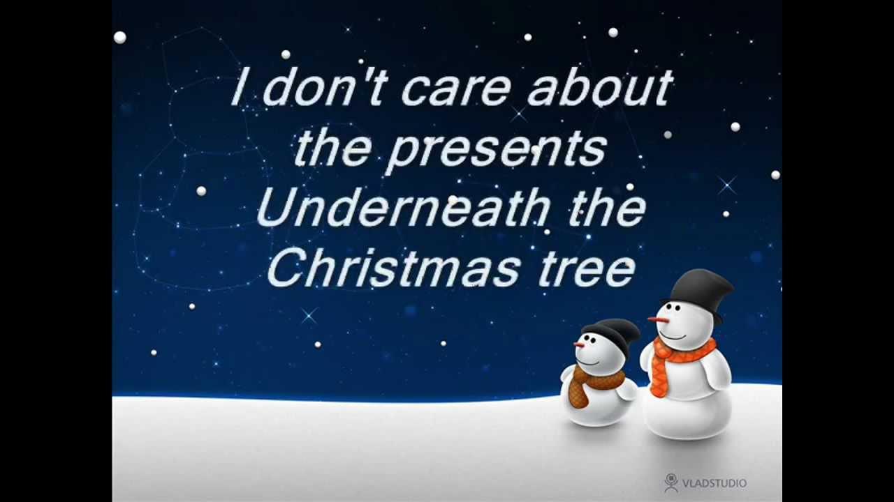 Mariah Carey - *All I Want For Christmas Is You* + Lyrics (HD) - YouTube