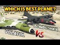 GTA 5 ONLINE : VOLATOL VS BOMBUSHKA (WHICH IS WORST AIRPLANE?)