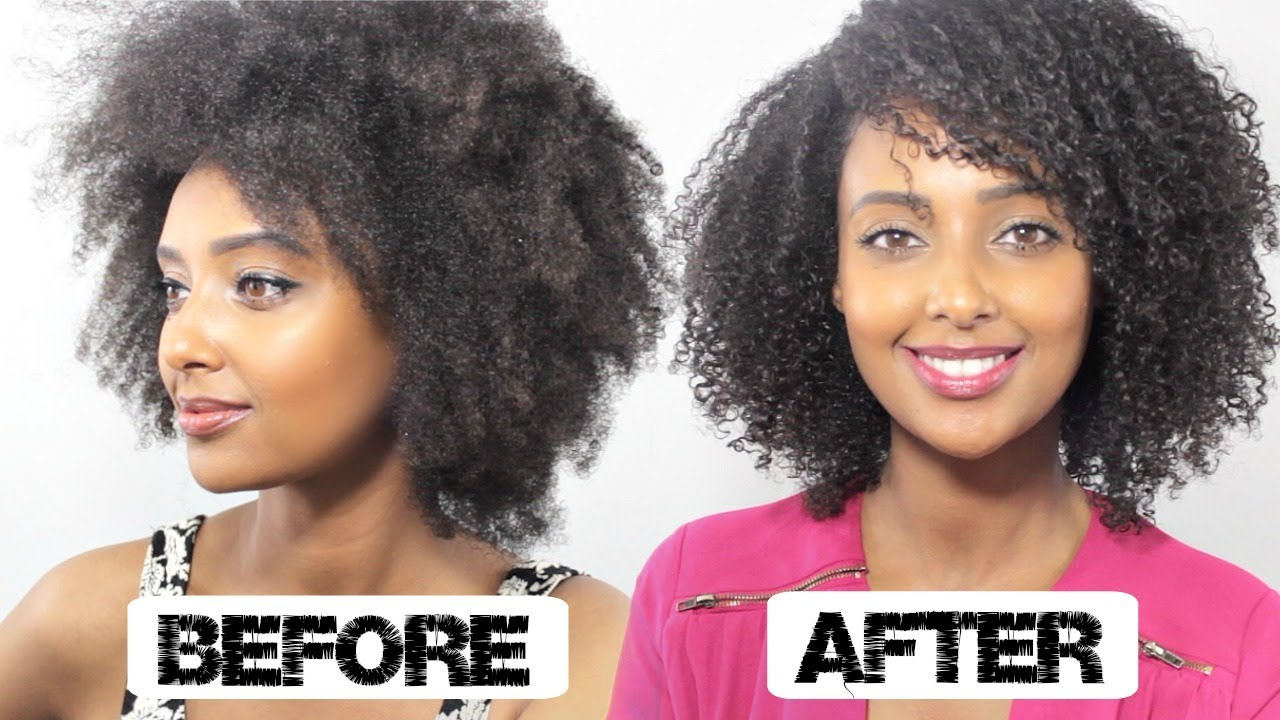 Type 4 Hairstyles: DEFINED Wash N Go Tutorial, Coarse Type 4 Hair