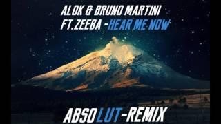 ALOK & BRUNO MARTINI - HEAR ME NOW - FT.ZEEBA (BLACK CULTURE REMIX)