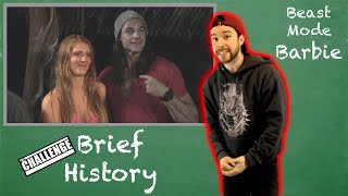 Jenna Compono: Beast Mode Barbie - The Challenge Brief History Lesson