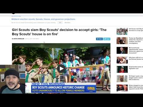 Girl Scouts Sue Boy Scouts For Allowing Girls... Uh Wat