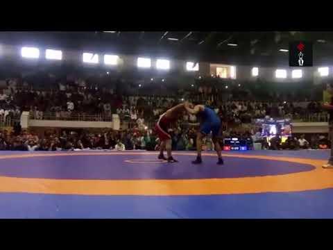 Sushil Kumar Pins Wrestler In 1:45 At Wrestling Nationals 2017