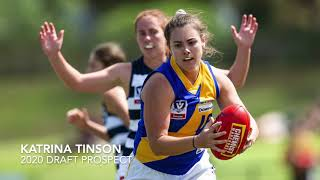 2020 draft prospect - Katrina Tinson