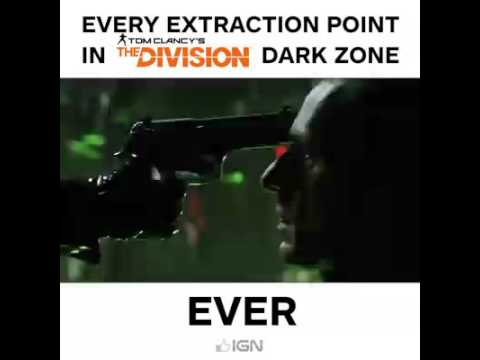 Every Extraction Point In The Division Ever Youtube