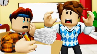 The Mean Teacher: A Roblox Brookhaven Movie (Story)