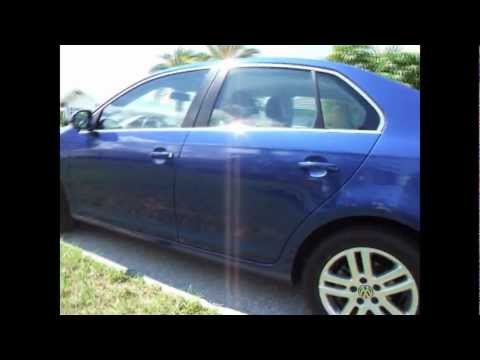 Laser Blue 2009 VW Jetta TDi 50+MPG.wmv