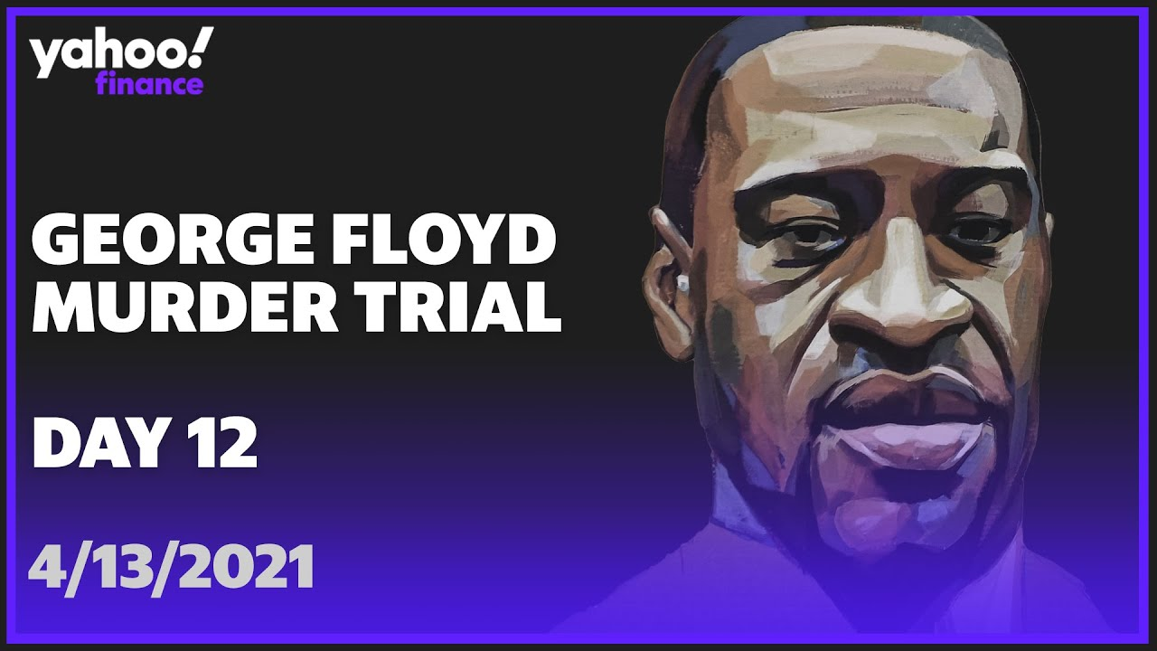 LIVE: George Floyd murder trial continues for Derek Chauvin former police officer accused