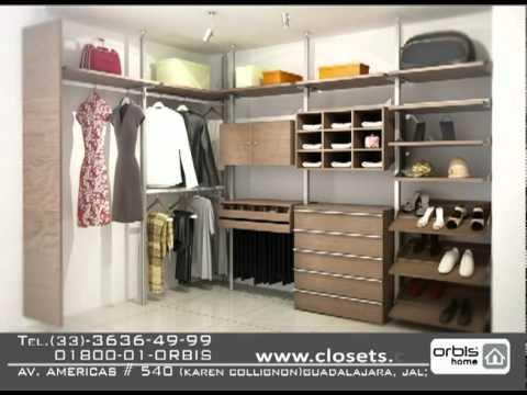 Closets de madera orbis home youtube for Working closet modernos