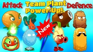 defence and attack plants vs zombies 2 team plant power up part 1
