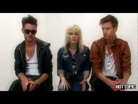 Interview: The Sounds