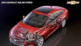 2016 Chevy Malibu Hybrid Review & Test Drive + How EGHR Works