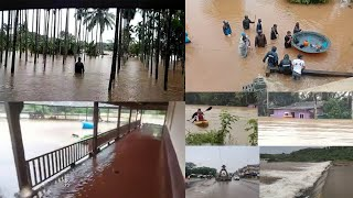 Torrential rains, floods wreak havoc in Coastal Karnataka | Udupi | Mangalore | Bhatkal | Karwar