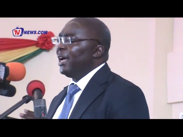 GOV'T WILL CREATE 100,000 JOBS FOR THE YOUTH-DR. BAWUMIA ASSURES GHANAIANS