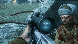 СНАЙПЕРСКАЯ МИССИЯ ВЕНДЕТТА Call of Duty 5 World at War   - прохождение 4 миссии