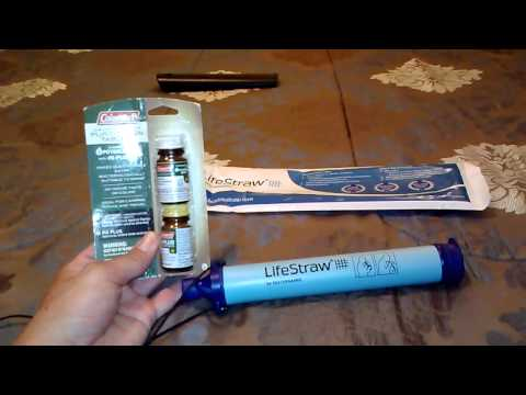 LifeStraw vs. Water purification tablets