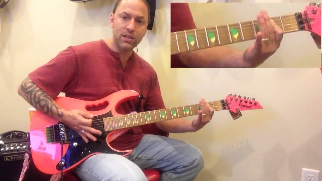steve stine guitar lesson learn how to play tnt by ac dc youtube. Black Bedroom Furniture Sets. Home Design Ideas