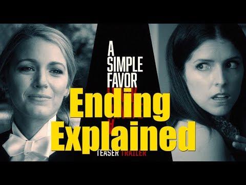 A Simple Favor (2018) Movie Ending Explained