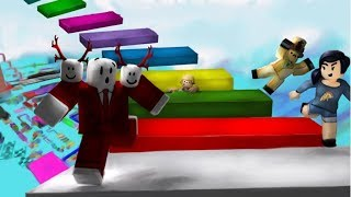 Roblox Mega Fun Obby 🌟-Khi Youtuber Parkour ngu choi roblox-Khadzpro Gaming