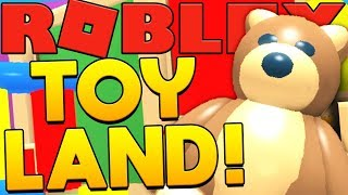 BRAND NEW TOY LAND (OVERPOWERED MONEY ORES) - ROBLOX MINING TYCOON #21