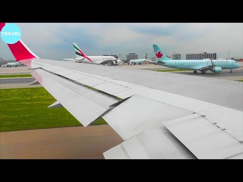 TAM 767-300WL Pushback, Taxi, Takeoff and Climb from Toronto Pearson Airport!