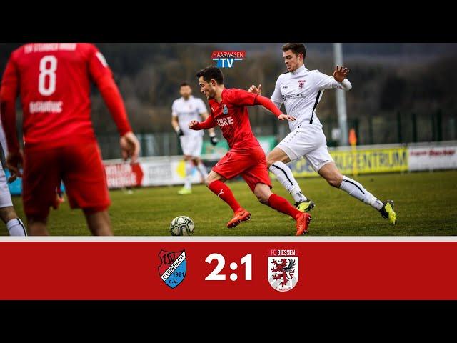 TSV Steinbach Haiger - FC Gießen 2:1 (Regionalliga Südwest 2019/20 I #TSVFCG )