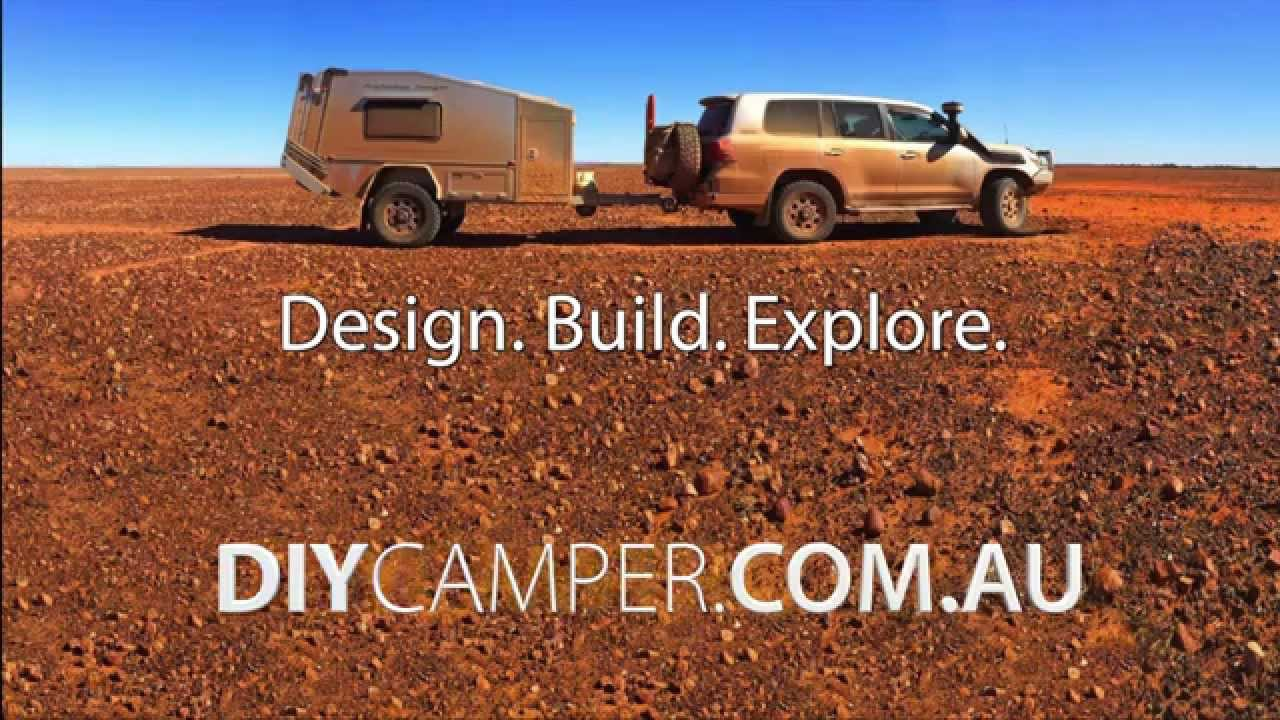 DIY Home Made Off Road Camper Trailer