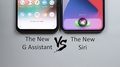 Siri in iOS 14 vs The New Google Assistant - On Pixel 4 XL & iPhone 11 Pro Max (2020 Refresh)